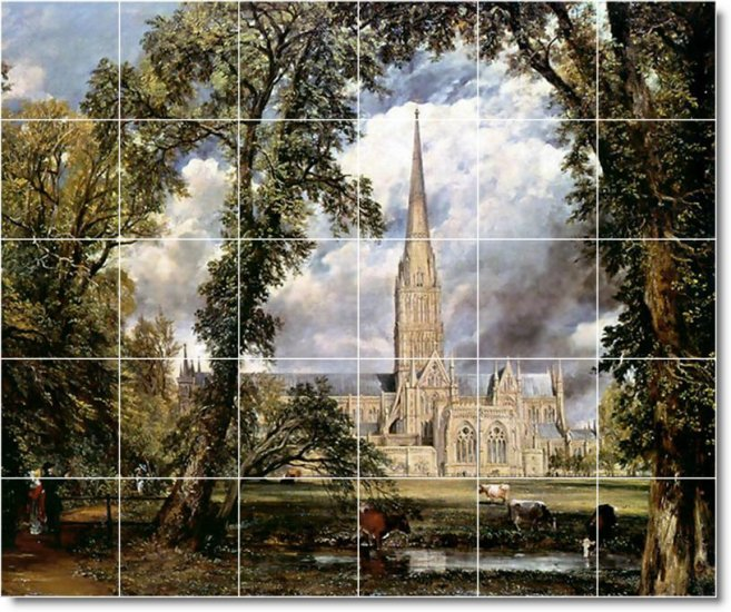 Constable Country Floor Room Dining Tiles Idea House Renovations