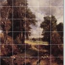 Constable Country Tile Murals Bathroom Decorate House Remodeling