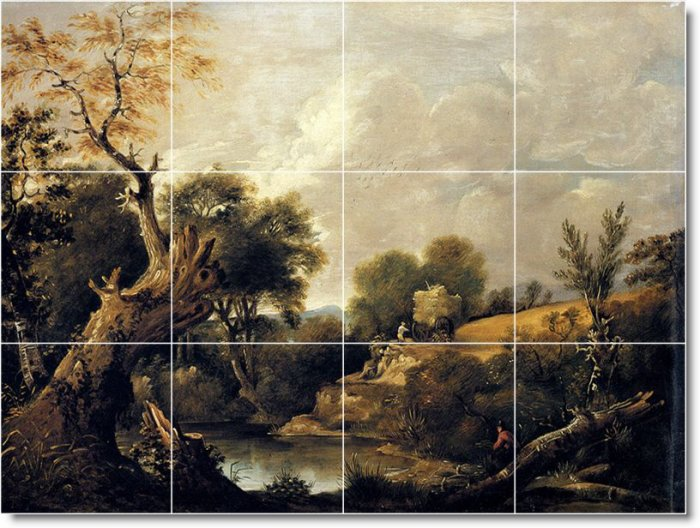 Constable Country Murals Bathroom Tile Decorate Remodeling House