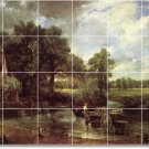 Constable Country Murals Tile Bedroom House Renovations Decorate