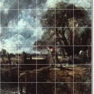 Constable Country Room Dining Tile Murals Interior Decor Remodel