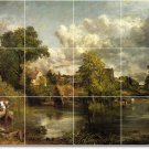 Constable Country Room Murals Dining Tile Decor Remodel Interior