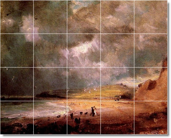Constable Country Murals Wall Room Tile Interior Modern Decorate