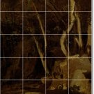 Corot Country Mural Wall Tile Room Dining Ideas Home Remodeling