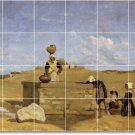 Corot Landscapes Dining Mural Floor Room House Idea Decorating