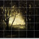 Corot Country Wall Shower Mural Bathroom Tiles Remodeling Ideas