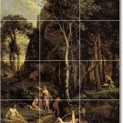 Corot Landscapes Living Floor Room Mural Ideas Home Decorating