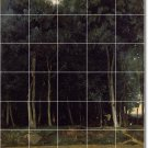 Corot Landscapes Living Floor Tiles Room Modern Renovate House