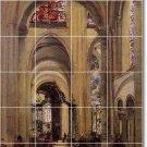 Corot Religious Wall Shower Mural Tiles Interior Decor Remodel
