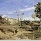 Corot Country Wall Backsplash Wall Murals Remodeling House Idea