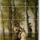 Corot Country Wall Wall Murals Backsplash Idea Remodeling House