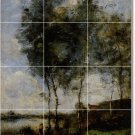 Corot Landscapes Wall Mural Living Room Renovations Ideas Home