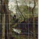 Corot Country Murals Bathroom Floor Contemporary House Renovate