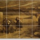 Corot Religious Wall Mural Shower Tiles Remodel Decor Interior