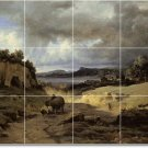 Corot Landscapes Mural Floor Kitchen House Remodeling Decorate