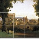 Corot Landscapes Floor Wall Kitchen Murals Renovate Commercial
