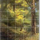 Courbet Country Tile Room Wall Mural Dining Commercial Remodel