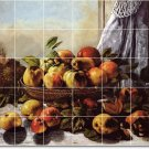 Courbet Fruit Vegetables Backsplash Wall Tiles Decor Home