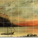 Courbet Waterfront Tile Mural Kitchen Decor Interior Renovate