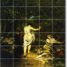 Courbet Nudes Tiles Mural Bedroom Renovations Home Contemporary