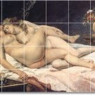 Courbet Nudes Mural Tile Bathroom Shower Remodeling Ideas House