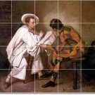 Couture Historical Room Dining Tile Mural Home Remodel Modern