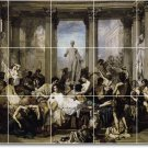 Couture Historical Room Dining Mural Tile Remodel Modern Home
