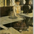 Degas Women Dining Wall Room Mural Tiles Construction Idea Home
