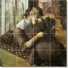 Degas Women Wall Mural Kitchen Tiles Construction Decorate Home