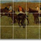 Degas Horses Kitchen Floor Murals Wall Home Construction Modern