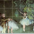 Degas Dancers Bathroom Murals Shower Ideas Renovations Interior