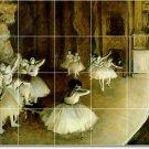 Degas Dancers Room Tile Mural Design Remodeling Idea Commercial