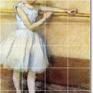 Degas Dancers Tile Mural Room Idea Commercial Remodeling Design