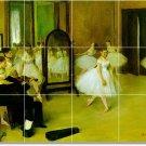 Degas Dancers Backsplashs Kitchen Decorate Remodeling Idea Home