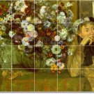 Degas Flowers Bedroom Mural Tiles Contemporary Home Renovations
