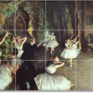Degas Dancers Bedroom Tiles Mural Contemporary Renovations Home
