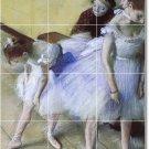 Degas Dancers Mural Bedroom Tiles Home Contemporary Renovations