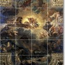 Delacroix Mythology Room Tile Living Mural Decor Interior Design