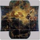 Delacroix Mythology Mural Room Tile Living Renovate Contemporary