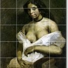 Delacroix Nudes Tiles Dining Mural Room Remodeling Residential