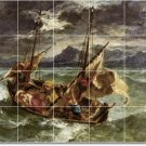 Delacroix Religious Room Tile Mural Renovations Ideas Commercial