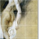 Delacroix Nudes Bathroom Mural Tiles Residential Ideas Remodel