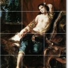 Delacroix Nudes Bathroom Mural Shower Tile Modern Remodel Home