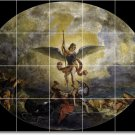 Delacroix Religious Room Tile Mural Dining Home Remodeling Ideas