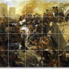 Delacroix Historical Tiles Wall Dining Room Renovate House Ideas