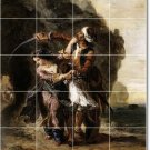 Delacroix Men Women Room Mural Tile Dining Remodeling Home Ideas