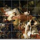 Delacroix Nudes Bathroom Tile Mural Shower Remodel Modern Home