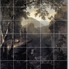 Durand Landscapes Room Mural Tiles Floor Contemporary Remodeling