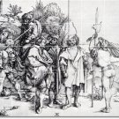 Durer Illustration Tile Shower Wall Murals Modern House Decor