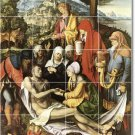 Durer Religious Mural Shower Bathroom Tile Home Ideas Renovate